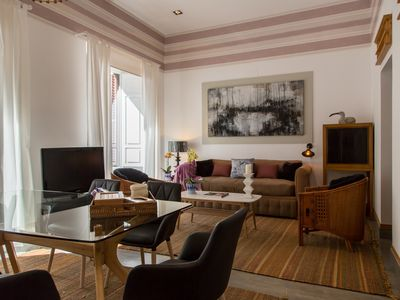 Photo for Charming luxury apartment in the heart of the historic district, Plaza Mayor