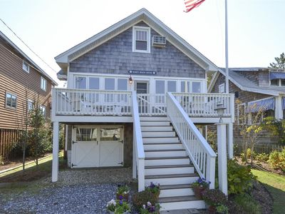 Photo for FREE DAILY ACTIVITIES! Welcome to Babe's Beach House!  This classic family beach cottage was built in the 1940's and Babe and family  are  only the 2nd owners.