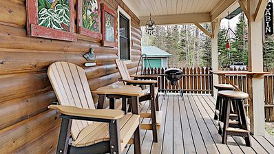 Photo for Get away from it all- Cozy cabin in the woods lake access & private pier