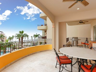 Photo for Beautiful 4th floor villa with ocean views. 5th or 7th night free this summer!