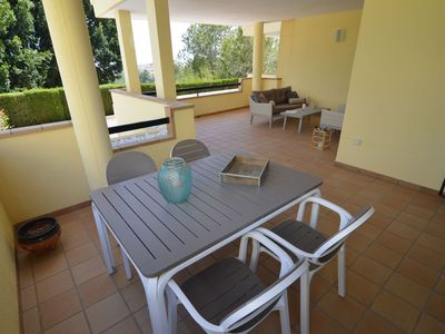 Photo for Spacious, modern apartment with large terrace and unobstructed view
