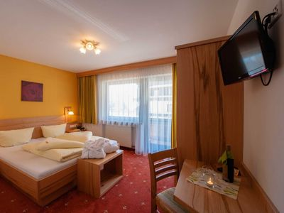 Photo for Double room type Sonnenspitze for single use - Garni RUSTIKA - Hotel Pension & Appartements