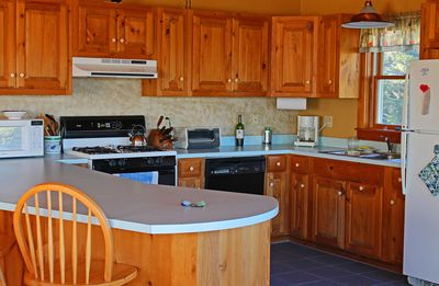 Two full kitchens - this is the one upstairs
