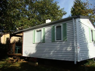 Photo for Camping Le Pigeonnier *** - Mobile home Perdrix 3 rooms 4/6 people