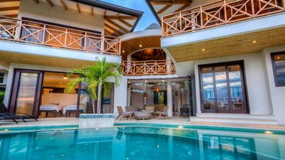 Photo for Ocean Front Luxurious Home; Infinity Pool; Tranquil Setting; Private Community