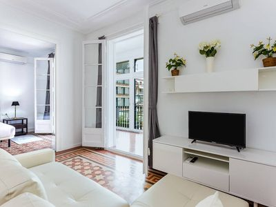 Photo for MODERNIST charming flat at Eixample