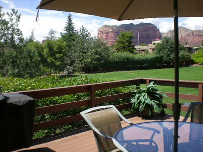Spacious Townhome in Sedona at Canyon Mesa on Golf Course with Red Rock Views