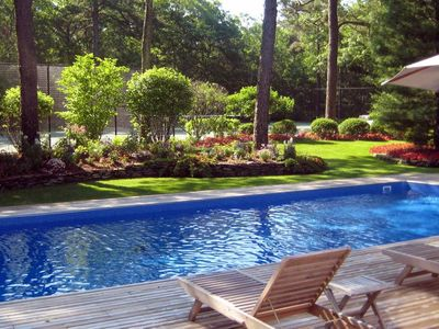 Photo for 5 Bedroom. Pool & Tennis on 5 Private Acres