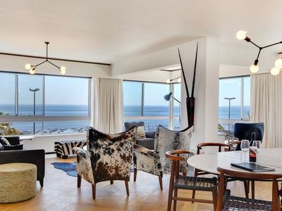 Photo for Magnificent Ocean Views, Beachfront, Sea Point, Cape Town, South Africa