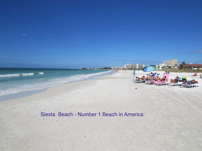 Photo for Siesta Paradise - Spectacular View of Siesta Beach