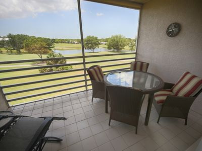 Photo for Expansive Lake and Golf Course Views
