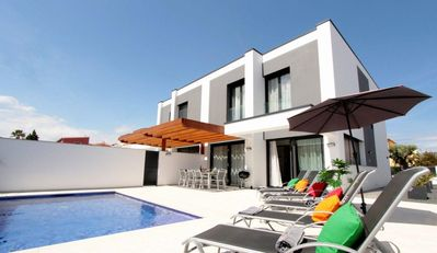Photo for Villa for 8 people with 3 bathrooms and private pool and beautiful terrace