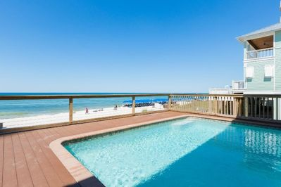 Private Pool, Overlooking Beach