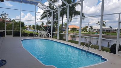 Photo for NEW LISTING! ☼ Waterfront 2b/2b Townhouse in Beautiful Punta Gorda ☼