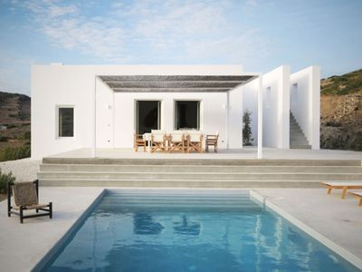 Photo for Paros Hideaway Villa 3br upto 7guests Private Pool