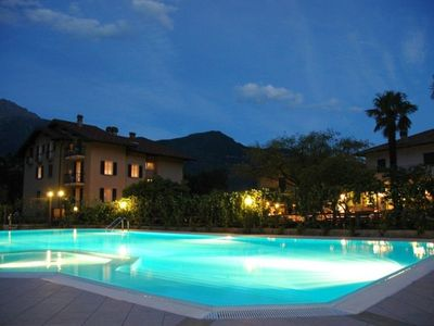 Photo for Bright and modern apartments with pool and beach and luxurious villas on the S