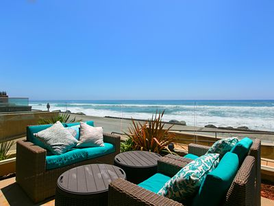 Photo for Premier Oceanfront Location at Oceanside's The Strand!