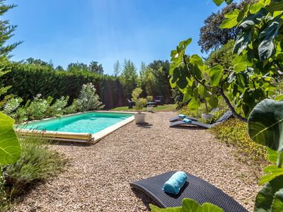 Photo for CHARMING HOUSE 160M2 SWIMMING POOL NICE GARDEN BY AIX EN PROVENCE AND LUBERON