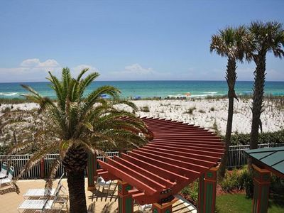 """Photo for Open Short & Long-Term - Cajun """"Miami"""" Pearl of Navarre - Beach Service Included"""