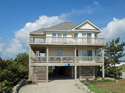 Photo for WOW! 5 BR (2 Masters), Hot Tub, Ocean Views & Comm Pool. A BEAUTY OF A HOME!