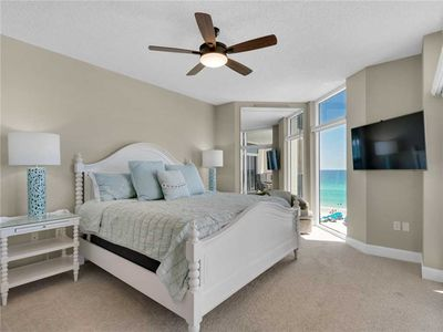 Gulf Front Master Bedroom