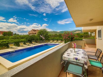 Photo for A1 - comfortable apt with big balcony and use of pool
