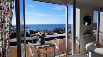 Photo for ILOT - SUR-VIEW apartment SEA VIEW (2/4 persons)
