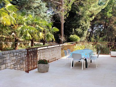 Photo for Three bedroom apartment with balcony and sea view Rabac (Labin)