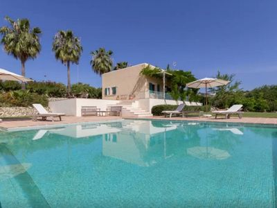Photo for Beautiful villa with pool, gardens and organic farming