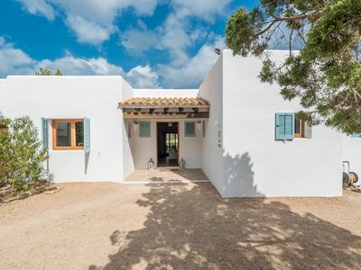 Photo for Rural Ibiza Chic Modern White Villa With Pool and Large Spaces