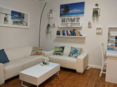 Photo for Your Epic Beach Flat - 3 min away from Beach and Ferry