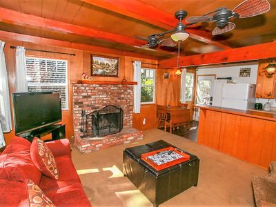 Photo for House 182 m from the center of Big Bear Lake with Parking, Internet, Balcony (983547)
