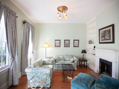 Photo for Stay Local in Savannah: 2-Story Home on Jones Street with 2 Parking Spaces!