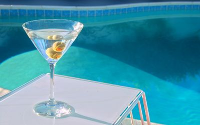Photo for Recently Remodeled! Mid-Century Martini Weekend: Huge Pool & Mountain Views