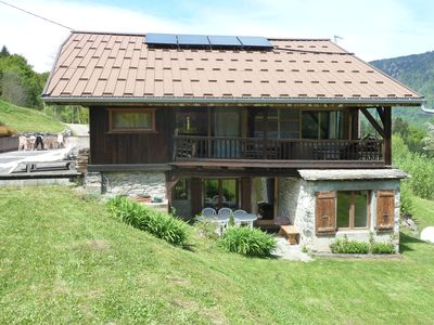 Photo for APART. CHARM IN FARM SAVOYARDE renovated 2/8 pers. SAUNA WIFI 3 BEDROOMS