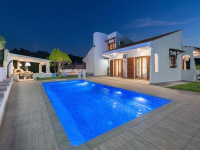 Photo for Premium Villa in strategic & quiet location of Rhodes.
