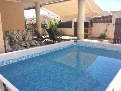 Photo for Beautiful villa 200 meters from the sea