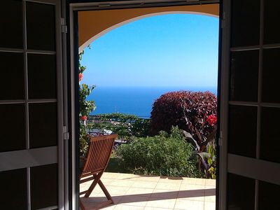 Photo for Cottage with stunning views of the Atlantic Ocean and the mountains - Casa Laurisol