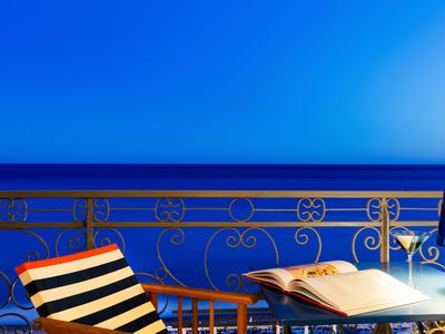 Photo for Stunning sea view on the Promenade des Anglais