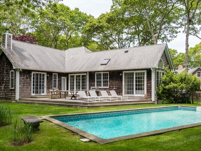 Photo for Beach nearby and pool in your backyard in this family-friendly modern home