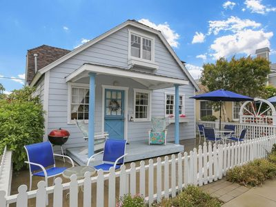 Photo for Corner Lot, Great Value on Balboa Island, Classic Cottage w/Amenities, Walk to Beach, Marine Avenue