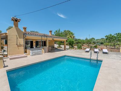 Photo for Villa in Majorcan Style with Pool, Wi-Fi, Garden and Terrace