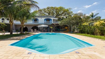 Photo for Colonial Style Paradisiac House with Large Pool and Lagoon View