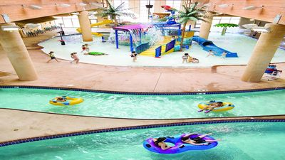 Take a float on the lazy river!