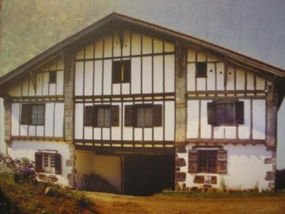 Photo for TO GRAB .. Gite in very old BASQUE HOUSE-Change of scenery Assured-