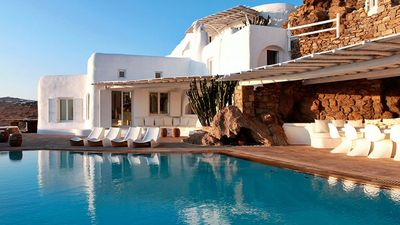 Photo for Superb Villa Biancoblue Mykonos 4br upto 10guests Private Pool