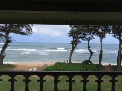 #324 - Direct Oceanfront Kauai Rental By Owner Ocean View FREE WiFi Parking A/C