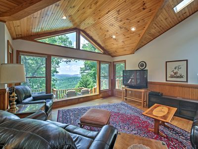 Photo for 'A Scenic View Lodge' in Ozarks w/ Views & Hot Tub