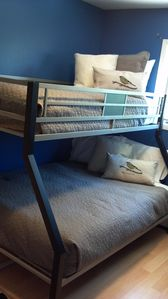 Bedroom #2 offers plenty of sleeping room with a Twin over Full Bunk Bed.