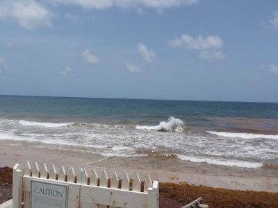 Photo for PARADISE FOUND,  ISLAND PARADISE BEACH VILLAGE 1A BEAUTIFUL 1BED CONDO SEA VIEW